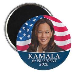 Kamala Harris 2020 Round Magnet Kamala Harris 2020 Magnets by MarshEnterprises - CafePress Custom Fridge Magnets, Printed Magnets, Bring It On, Let It Be, Round Magnets, Kamala Harris, Vice President, Easy Crafts, Presidents