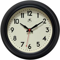 Infinity Instruments Cuccina Wall Clock is a deep steel case wall clock that will work perfectly in your home or at your office. This stylish wall clock c...