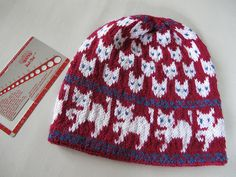 Free Cat Hat pattern at Ravelry: Great cat pattern for Halloween.  Witch / cats hat pattern by Christine de Savoie.  http://www.ravelry.com/patterns/library/witch-cats-hat