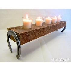 Wooden Candle Holder DIY Projects - The Cottage Market