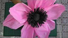 Большой цветок из изолона - YouTube