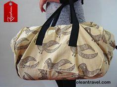 Top Selling Everyday Use Large Bird Motif Block Print Bag -Travel Bag - Large Weekender Bag - http://oleantravel.com/top-selling-everyday-use-large-bird-motif-block-print-bag-travel-bag-large-weekender-bag