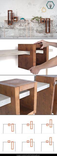 A MODULAR CONSOLE TABLE NAMED IGGY