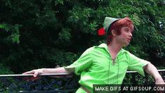 Peter Pan in Disney Parks