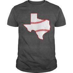 Texas baseball - Tshirt Texas Baseball, Baseball Shirts, Tee Shirts, Cool Tees, Tshirts Online, Shirt Style, Long Sleeve Shirts, Shirt Designs, Mens Fashion