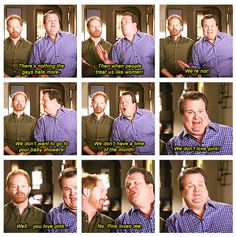 LOL I love Mitch & Cam together #ModernFamily