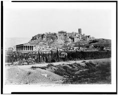 Acropolis from n. west | Library of Congress