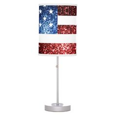 USA flag red blue sparkles glitters Table Lamp 4 th of july, 4th of july svgs, 4th of july dinner ideas #4thofjulyhipster #4thofjulytahoe #4thofjulyrecipe, dried orange slices, yule decorations, scandinavian christmas Sparkles Glitter, Blue Glitter, Patriotic Bedroom, 4th July Crafts, Trendy Home Decor, Table Lamp Shades, Incandescent Light Bulb, Yule Decorations, Trim Color