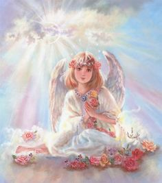 LITTLE ANGEL by Judy  Mastrangelo SciFi and Fantasy Art