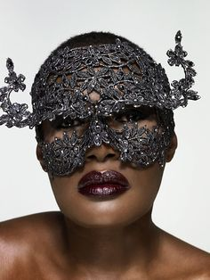 Grace Jones #mask #headdress