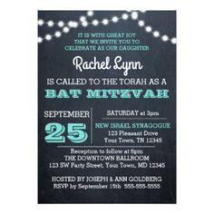 Bat Mitzvah Invitations, 5400+ Bat Mitzvah Announcements & Invites