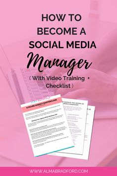 Ever wanted to work from home as a Social Media Manager? In this article, I explain exactly how to get started even if you're a beginner. You'll also learn which services to offer. Creating A Business, Starting A Business, Business Tips, Online Business, Social Media Services, Social Media Marketing, Marketing Strategies, Virtual Assistant, Online Marketing