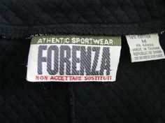 Forenza sweaters were a must have.