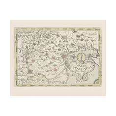 Ancient map of Venice Province - authentic reproduction printed on handmade paper or canvas. Framed picture available. Ancient Map, Venice Map, Names Of Artists, Map Wall Art, Historical Maps, Art Images, Picture Frames, Vintage World Maps, Decor Ideas