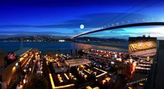 Reina, one of Istanbul's most famous partying venues by the Bosphorus w dinner venues