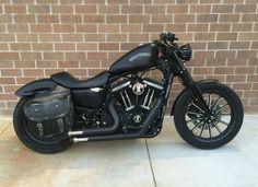 Harley Davidson Iron 883 my personal ride.
