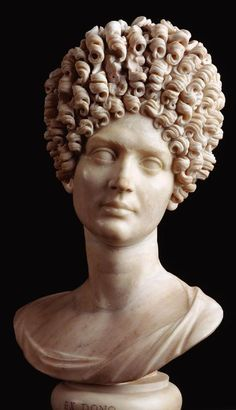Bust of Julia Titi Flavia, daughter of the second Flavian emperor, Titus (c. 90 CE)