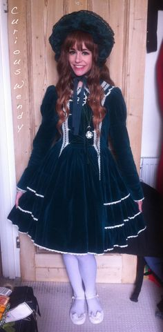curiouswendy:  Old-school Classic Lolita