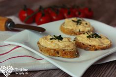 Archívy Nátierky - Page 2 of 4 - Tinkine recepty Snack Recipes, Snacks, Russian Recipes, Tasty Dishes, Muffin, Food And Drink, Breakfast, Fit, Polish