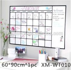 love this dryerase calendar decal from pbteen the new pb dorm stuff is nice wish it was around when i was in school - Dry Erase Calendar