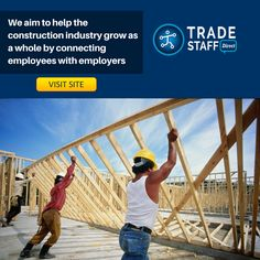 We make the tough job of connecting employees with employers easy. We aim to help the construction industry grow as a whole by connecting employees with employers. And the best part is that we keep the process extremely hassle free. Whether you are looking for the right job or the right candidate, we are here to help you with the entire process.
