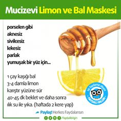 Miraculous Lemon and Honey Mask # health # usefulinformation Useful Scholar – Cosmetic Ideas Beauty Tips For Face, Just Beauty, Beauty Care, Beauty Skin, Beauty Hacks, Homemade Skin Care, Homemade Beauty, Healthy Beauty, Healthy Life