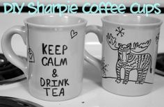 This Memorable Life: Guest Post: DIY Sharpie Coffee Cups with Katie