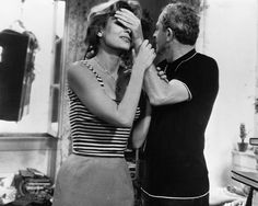 Melina Mercouri with Jules Dassin Never On Sunday, Die A, Movie Couples, So Much Love, Warner Bros, Picture Photo, Personal Style, Photo Editing, Hollywood