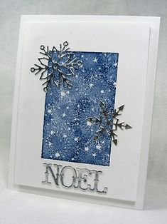 Today is the 500th CAS challenge and we are asked to use gold or silver. A Christmas card for my stash...