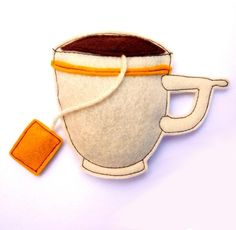 would love to make this and add a magnet on the back for the fridge :) or even hanging from the tea cupboard!