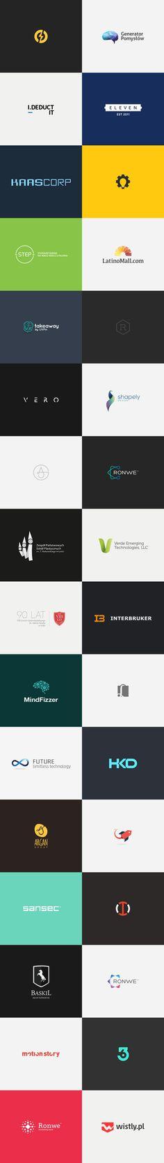 Logotipos atractivos de otros diseñadores http://jrstudioweb.com/diseno-grafico/diseno-de-logotipos/