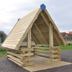 Luxor Playhouse - Playground Equipment http://www.fenlandleisure.co.uk/products/nb58-luxor-playhouse/
