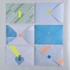 printed envelopes |A Creative Mint