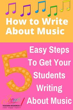 This FREE video tutorial shows you my 5 Step Process for getting students to write critically and analytically about the Music that you study in class.