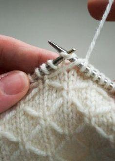 Beautiful stitch pattern. Plus a free scarf pattern. by eleanor