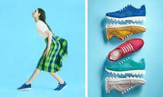 Cosa metto con queste sneakers? Se anche a voi, come alle lettrici di Donna Moderna, capita di chiedervelo, ecco un ottimo abbinamento con le iconiche sneakers Speedy blu! http://www.donnamoderna.com/moda/scarpe/sneakers-donna-abbinamenti/photo/sneakers-con-carrarmato-e-gonna-quadri