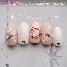 Cute Christmas Nails, Xmas Nails, Christmas Nail Designs, Holiday Nails, Pretty Nail Designs, Colorful Nail Designs, Nail Art Designs, Snow Nails, Winter Nails