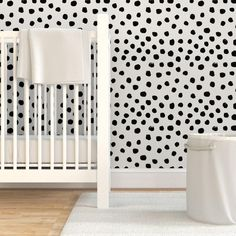 Nursery Wallpaper Dots Cream Neutral Minimal Animal Spots by | Etsy Animal Print Wallpaper, Nursery Wallpaper, Wallpaper Roll, Peel And Stick Wallpaper, Black And White Wallpaper, Drawer And Shelf Liners, Self Adhesive Wallpaper, Diy Hanging, Wall Spaces