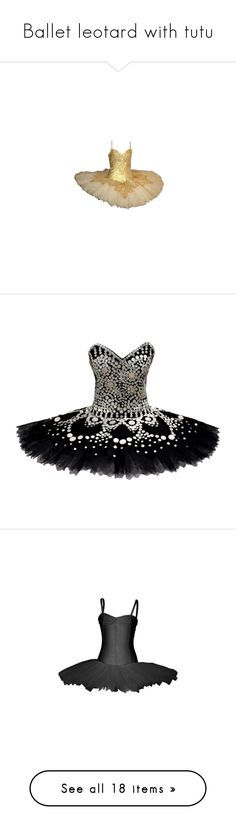 """""""Ballet leotard with tutu"""" by lulucosby ❤ liked on Polyvore featuring dresses, ballet, corset, dance, black swan, ballet dress, ballerina dress, l-dancewear, vestidos and doll clothes"""