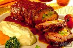 Receita de Bife à rolê gigante em receitas de carnes, veja essa e outras receitas aqui!