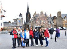 Adana Turizm misafirleri ile Edinburgh'da