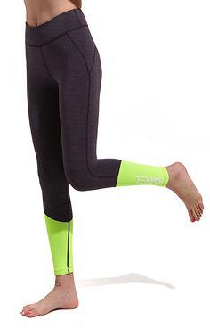 Nine Women Neoprene Surf Pants Indigo/N.YEL #barrel