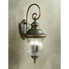 Kichler Sausalito 9452OZ Outdoor Wall Lantern - 9.5 in. - Olde Bronze - 9452OZ