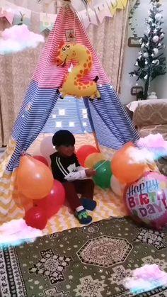 Kids Camping Tent, Kids Teepee Tent, Play Tents, Birthday Celebration, Birthday Parties, Birthday Gifts, Teepee For Sale, Baby Tent, Modern Kids Bedroom