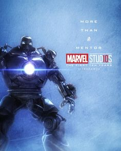 #IronMonger More Than A Mentor Character posters for Marvel Studios' 10th anniversary