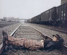 Downtown Train Tracks...Brad Renfro(pictured)....RIP
