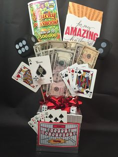List Of Gifts For Husband On Wedding Night : ... wedding creative gifts date nights gift basket forward casino gift