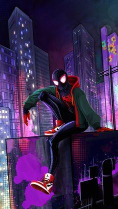 Art Spiderman, Miles Spiderman, Amazing Spiderman, Flash Comics, Marvel Comics Art, Marvel Dc, Disney Channel, Infinity War, Tom Holland