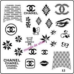 Mundo De Eunas nail stamping plate.  Can be purchased here via Facebook:  http://www.facebook.com/media/set/?set=a.140584299441123.32122.137070309792522=3