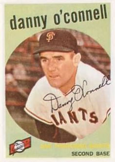 1959 Topps #87 Danny O'Connell Front